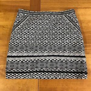 WHBM A-line skirt 10